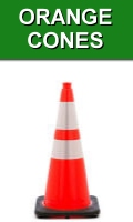 MUTCD Compliant JBC Orange Traffic Cones