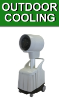 Portable Outdoor Cooling Fans and Misters
