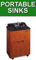 Portable Handwash and Shampoo Sinks