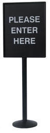 22x28 Sign Holder Outdoor Use SP600S-3