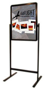 22x28 Smooth Edges Radius Corners Sign Holder