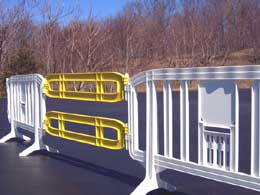 Extendit Plastic Barricade Extensions for Movit and Minit Barricades
