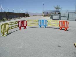 Minit 4ft Plastic Barricades