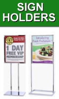 Sign Holders and Poster Stands