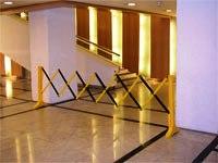 Expandable Folding Aisle Barrier