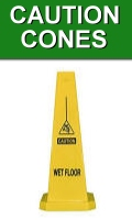 Yellow Caution Cones