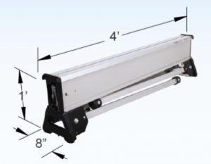 RetractaCade Folding Expandable Aluminum Barricades