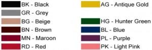 Cotton Core Velour Velvet Stanchion Rope Colors