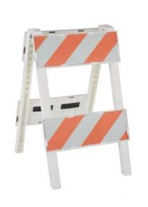 Type 2 Barricades Cortina Plastx Traffic Control Barricade