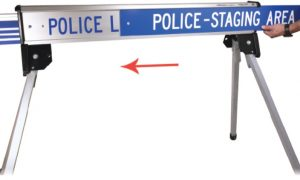 RetractaCade Emergency Traffic Control Barricades