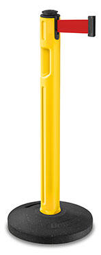 Beltrac Tempest Outdoor Stanchions Yellow 80-5000R-YL-RD