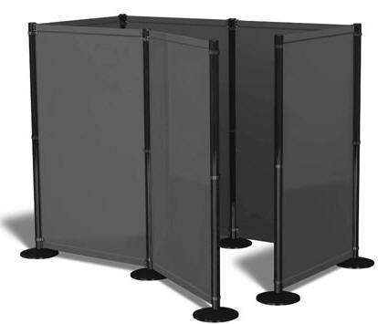 Privacy Screens, Portable Indoor Privacy Booth