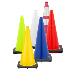 Yellow Traffic Cones  JBC Safety