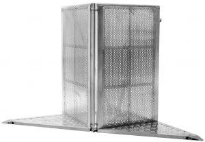 Aluminum Stage Barricade Corner Piece