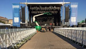 Sonco Aluminum Concert Barriers and Stage Barricades