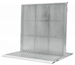 Straight Section Aluminum Stage Barricade