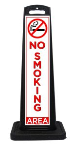 Portable No Smoking Area Sign