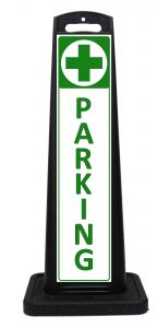Medical Marijuana Dispensary Parking Sign