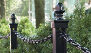 Decorative Black Landscape Chain