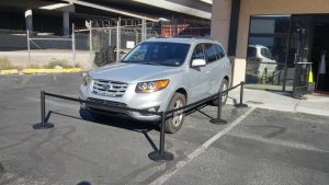 Car Show Stanchion Rental Las Vegas