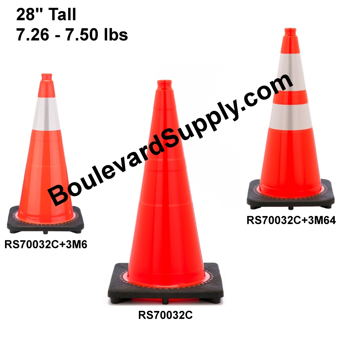 RS70032C Orange Traffic Cones