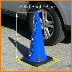 Rent Blue Traffic Cones Las Vegas