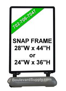 Snap Frame Wind Resistant Signs