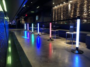Lighted LED Stanchions