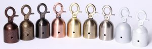 Custom Color Powder Coated Stanchion Rope Ends