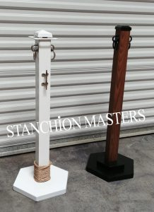 Square Post Stanchions