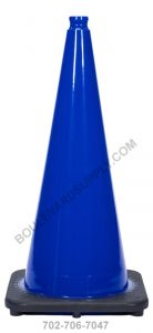 28 inch Royal Navy Blue Safety Traffic Cone RS70032C-NB