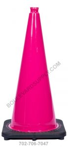 28 inch Bright Hot Pink Safety Traffic Cone RS70032C-PINK