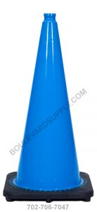28 inch Sky Blue Safety Traffic Cone RS70032C-SB
