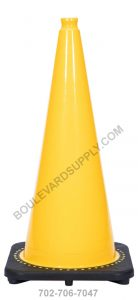 28 inch Yellow Traffic Cone RS70032C-YELLOW