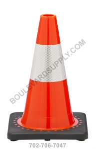 12 inch Orange Traffic Cone RS30008C-ORANGE-3M4