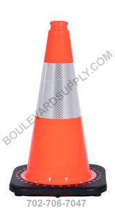 18 inch Orange Reflective Traffic Cone RS45015C-ORANGE-3M6