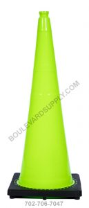 36 Inch Lime Green Traffic Cone RS70032C-LIME