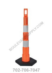 42 Inch Navicade Orange Road Construction Channelizer Cone