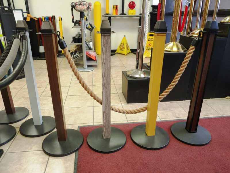 Stanchion Masters Wood Grain Wooden Stanchions